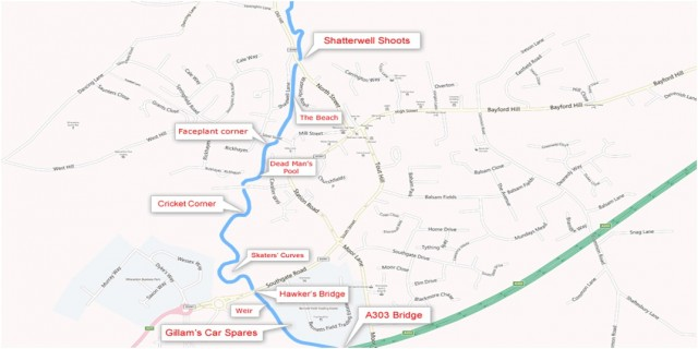Wincanton CATCH map
